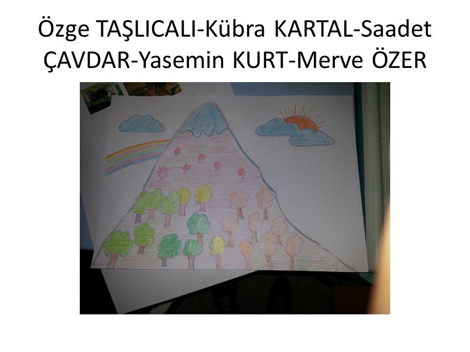 Özge TAŞLICALI-Kübra KARTAL-Saadet ÇAVDAR-Yasemin KURT-Merve ÖZER