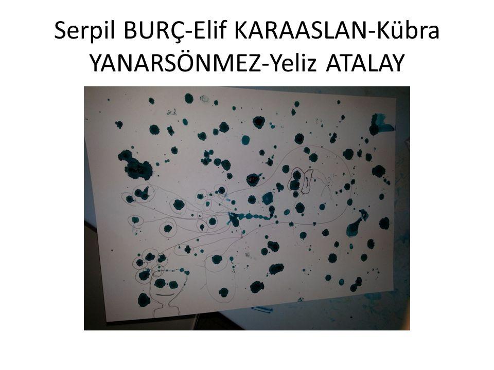 Serpil BURÇ-Elif KARAASLAN-Kübra YANARSÖNMEZ-Yeliz ATALAY