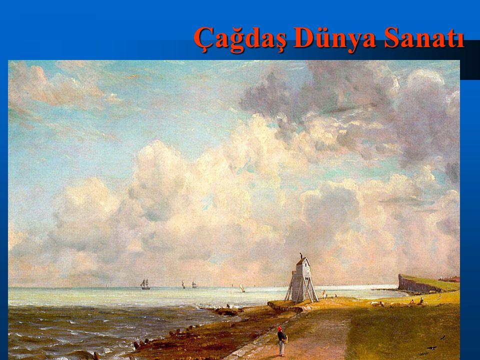 1824 yılında Paris Salonu nda John Constable ın eserleri sergilendi.