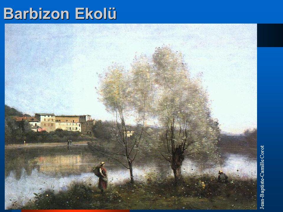 Barbizon Ekolü Jean-Baptiste-Camille Corot