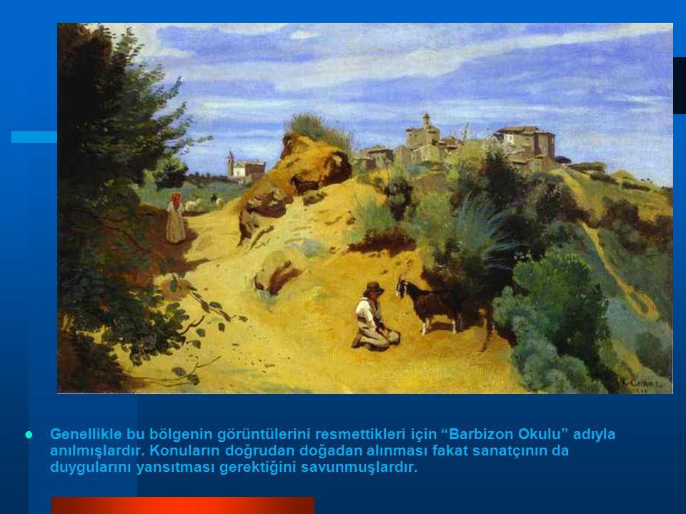 1853-1856 yılları arasındaki bu olgunlaşma sürecinde ressamın İtalya, Hollanda, Almanya ve Avusturya'ya yaptığı yolculuklar, sanat anlayışının şekillenmesine yön vermiştir.