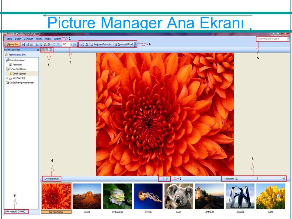 Programda Bulunan Özellikler Bir önceki slaytta bulunan resimdeki belirtilmiş numaraların açıklamaları ileriki slaytlardadır.