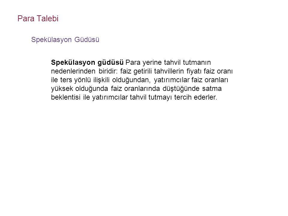 PARA POLİTİKASI ARAÇLARI 2.
