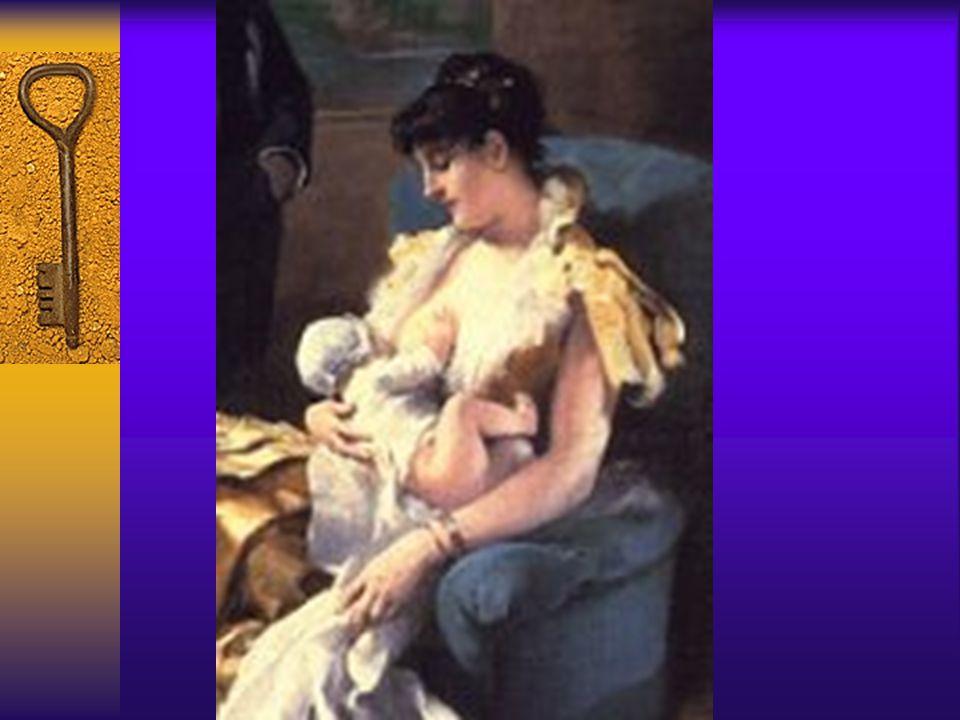 Tarihte anne sütü-2  İslamiyet:İslam'a göre bebeğin anne karnında kanla beslenmesi ile doğumdan sonra anne sütü ile beslenmesi arasında kesintisiz bi