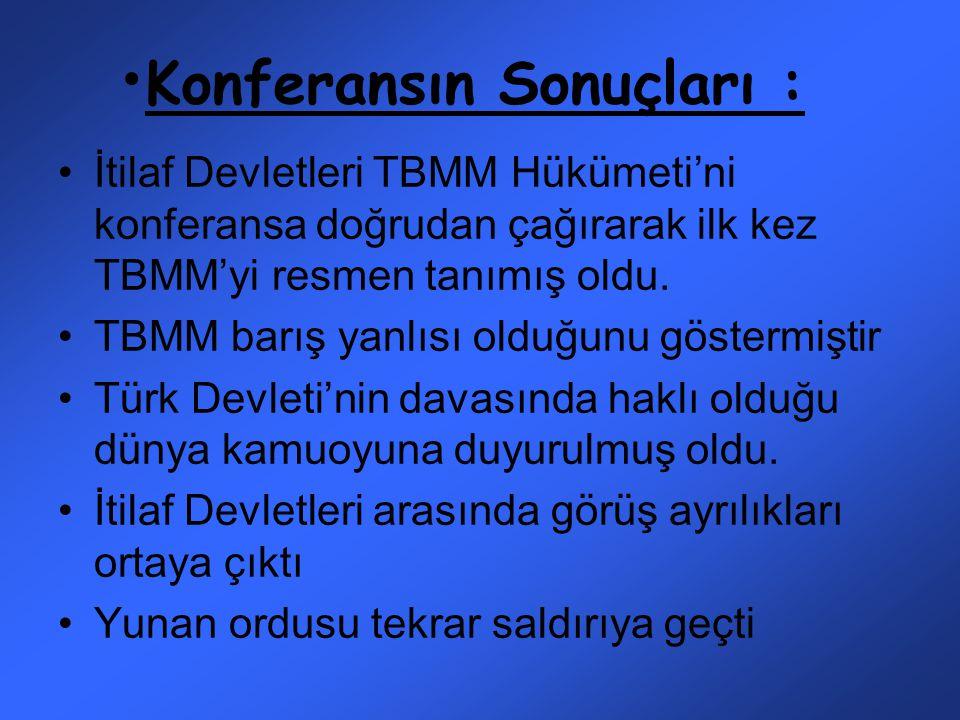 Türk milletinin haklı davasını tüm dünyaya göstermek Türk milletinin barış yanlısı olduğunu göstermek Misak-ı Milli kararlarını duyurmak Türkler barış