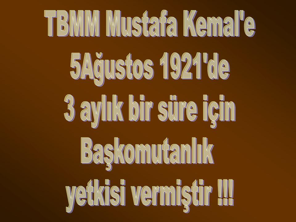 Mecliste sert tartışmalar yaşandı. Düzenli Ordu ve M.Kemal eleştirilmeye başlandı. Meclis Merkezinin Kayseri ye dahi taşınmasını teklif edenler oldu.B