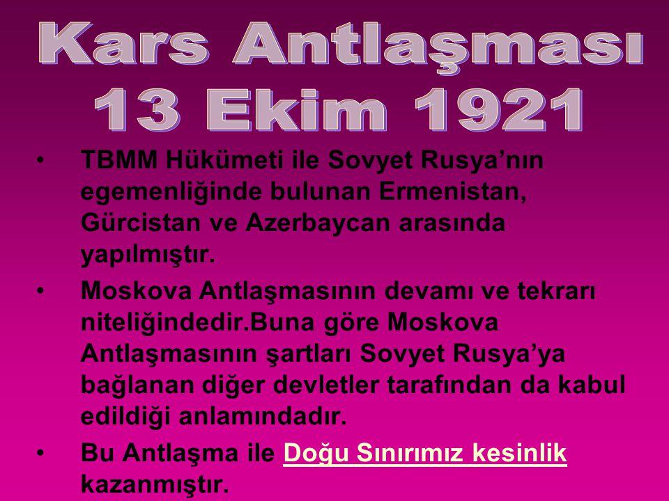 1683 tarihindeki II. Viyana bozgunundan beri devam eden Türk Gerileyişi sona ermiştir. TBMM Mustafa Kemal'e GAZİ unvanı ve MAREŞAL rütbesi verdi Türk