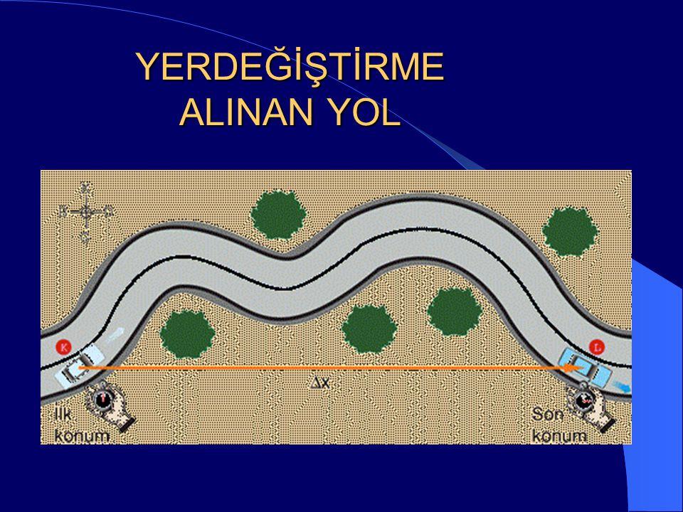 YERDEĞİŞTİRME ALINAN YOL