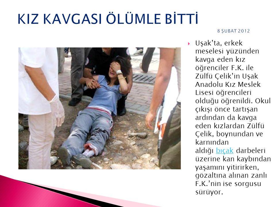 Türkiye'de gençler arasındaki şiddet eğilimi giderek artıyor.