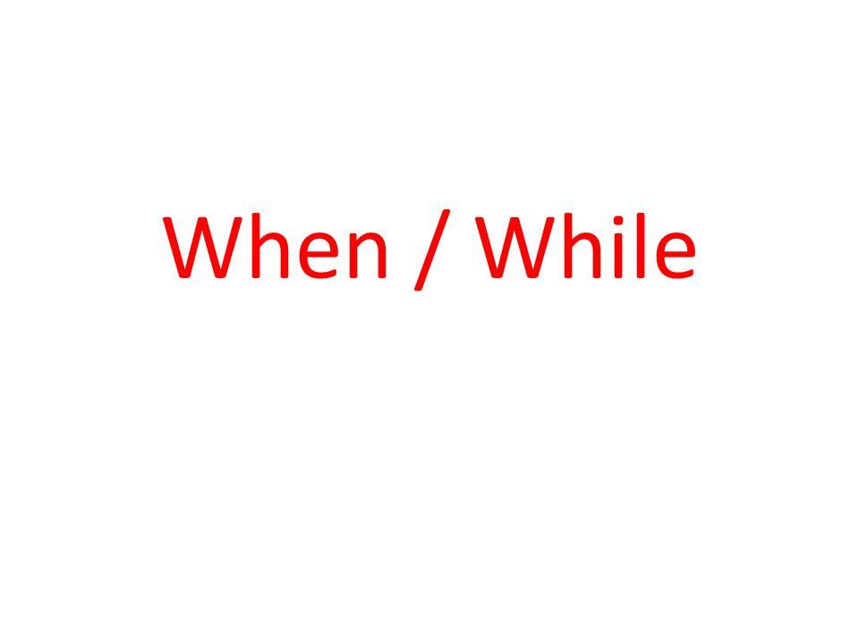 LONG ACTIONS Süreklilik gösteren/zaman alan fiiller SHORT ACTIONS Anlık/zaman almayan fiiller