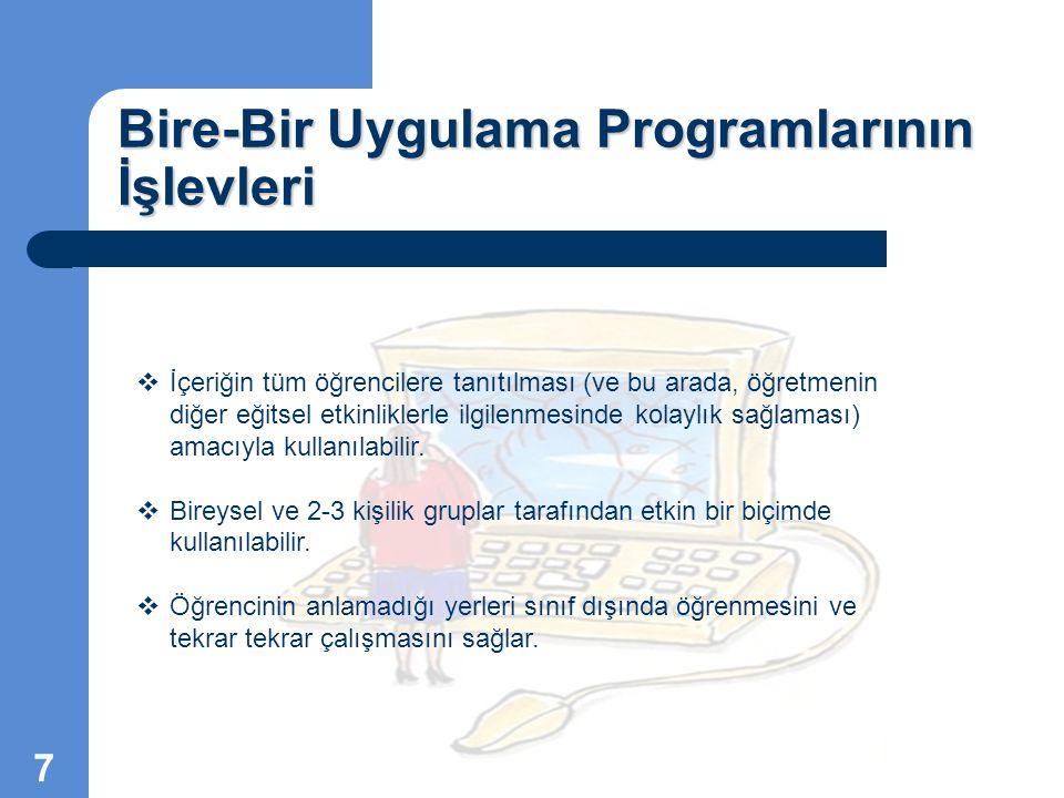 Bire-Bir Uygulama Programı Hazırlarken Dikkat Etmemiz Gereken Hususlar  Program, açık, net ve anlaşılır bir dille yazılmalıdır.