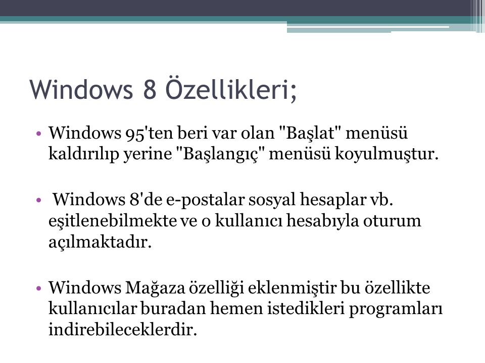 Windows 8'in Sürümleri; Windows RT 8.1 Windows 8 Pro Windows 8.1