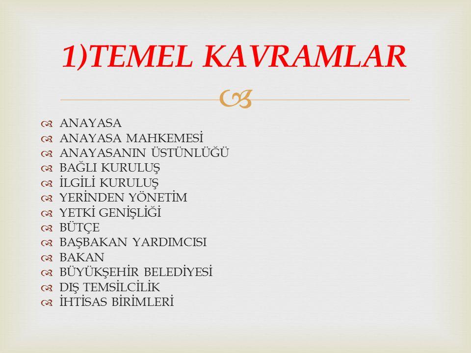   Türkiye'de bakanlıkların tüzel kişiliği yoktur, devlet tüzel kişiliği içindedirler.
