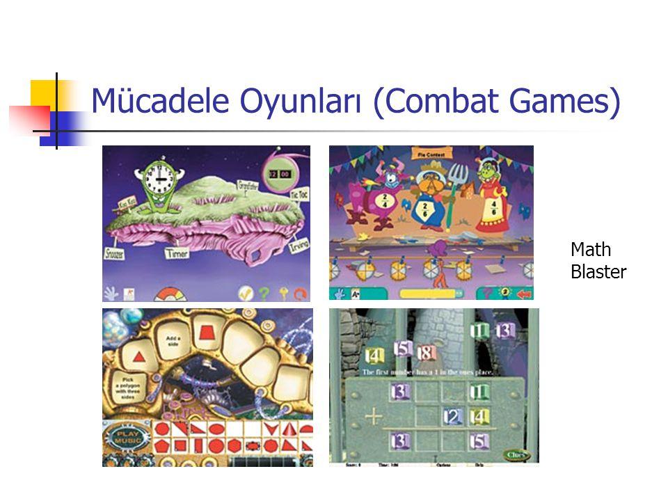 Mücadele Oyunları (Combat Games) Math Blaster