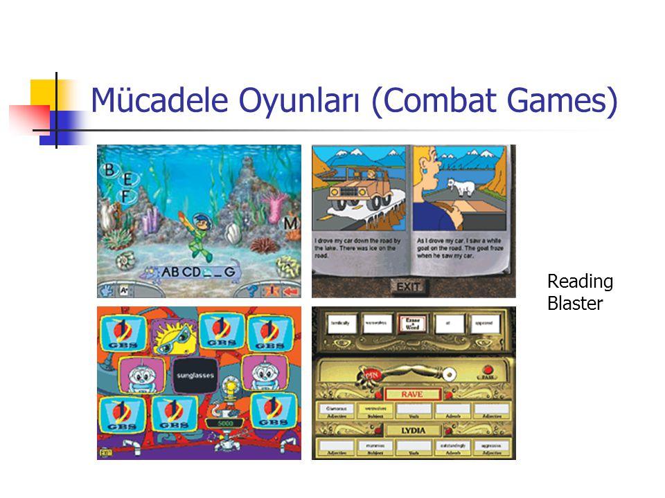 Mücadele Oyunları (Combat Games) Reading Blaster