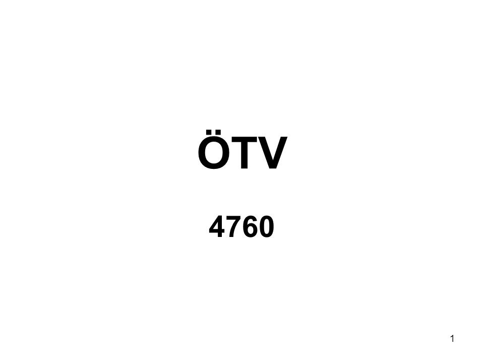 1 ÖTV 4760