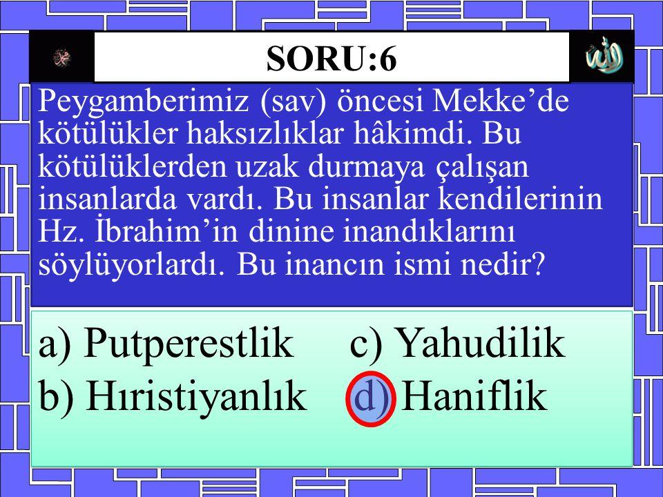 Peygamberimiz (sav) öncesi Mekke'de kötülükler haksızlıklar hâkimdi. Bu kötülüklerden uzak durmaya çalışan insanlarda vardı. Bu insanlar kendilerinin