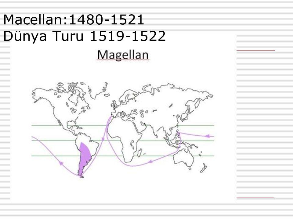 Macellan:1480-1521 Dünya Turu 1519-1522