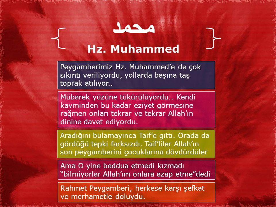 محمد Hz.Muhammed Peygamberimiz Hz.