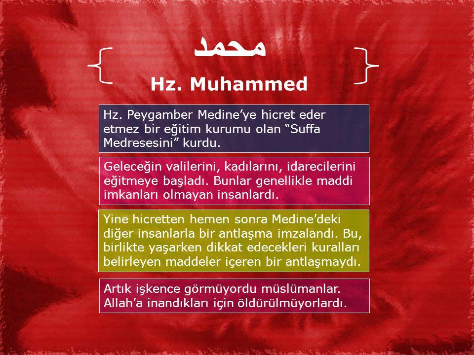 محمد Hz.Muhammed Hz.