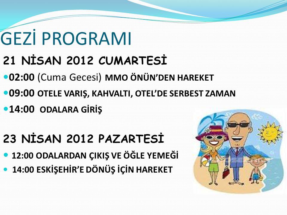 BAHARIN KEYFİNİ ANTALYA/KEMER'DE ÇIKARALIM.