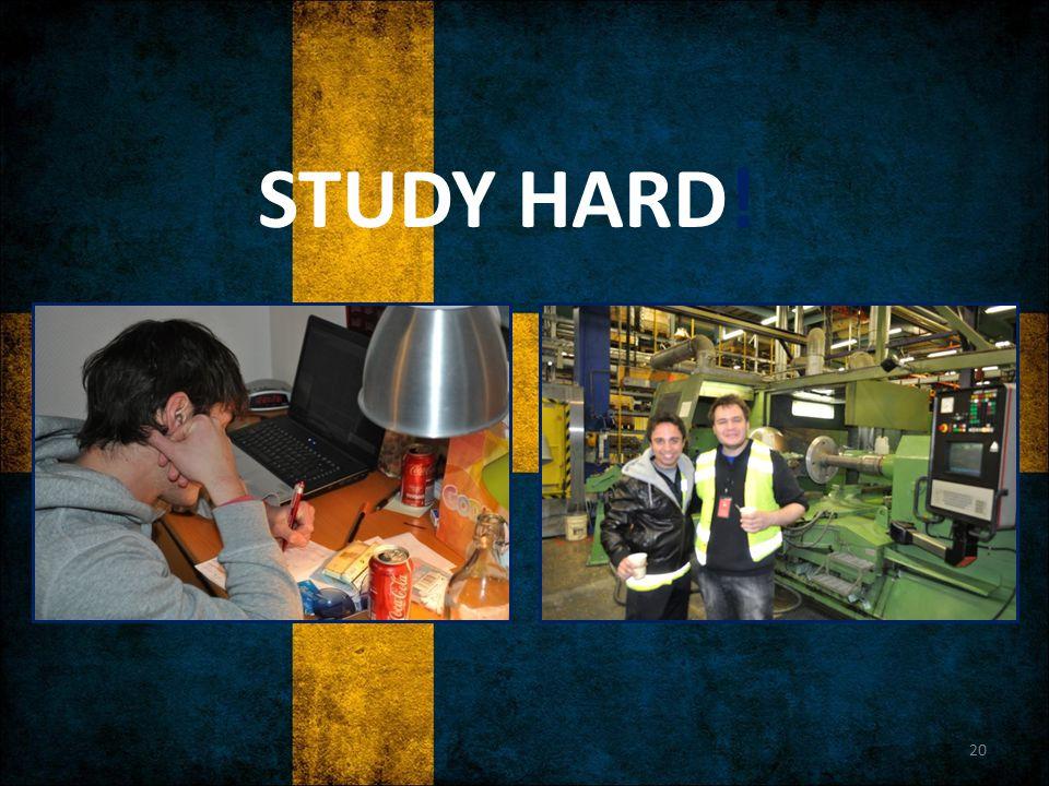 STUDY HARD! 20