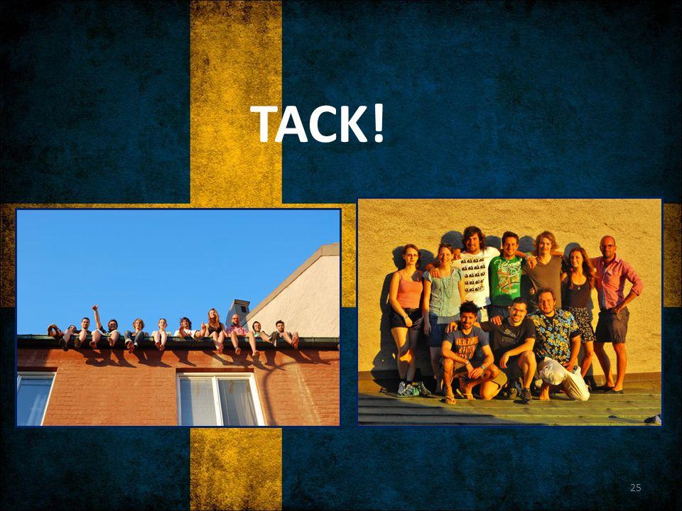TACK! 25