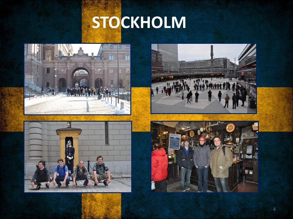 GENEL Yemek kültürü İsveç köftesi (IKEA, marketler) Fika Kebabpizza, Kebabrulle Somon ya da et + patates Süpermarketler Willy's, Lidl, Hemköp, ICA, Coop IKEA =) Ulaşım Bisiklet - Otobüs (şehir içi) Otobüs – tren (şehirler arası) Ryanair – Easyjet etc.