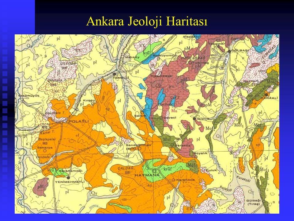 Ankara Jeoloji Haritası