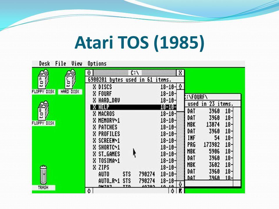 Atari TOS (1985)