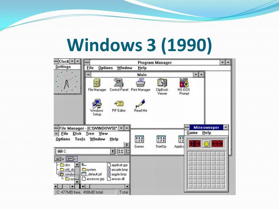 Windows 3 (1990)