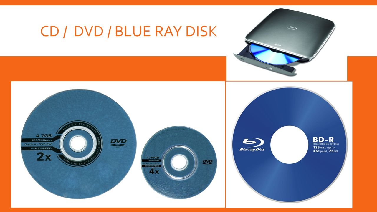 CD / DVD / BLUE RAY DISK