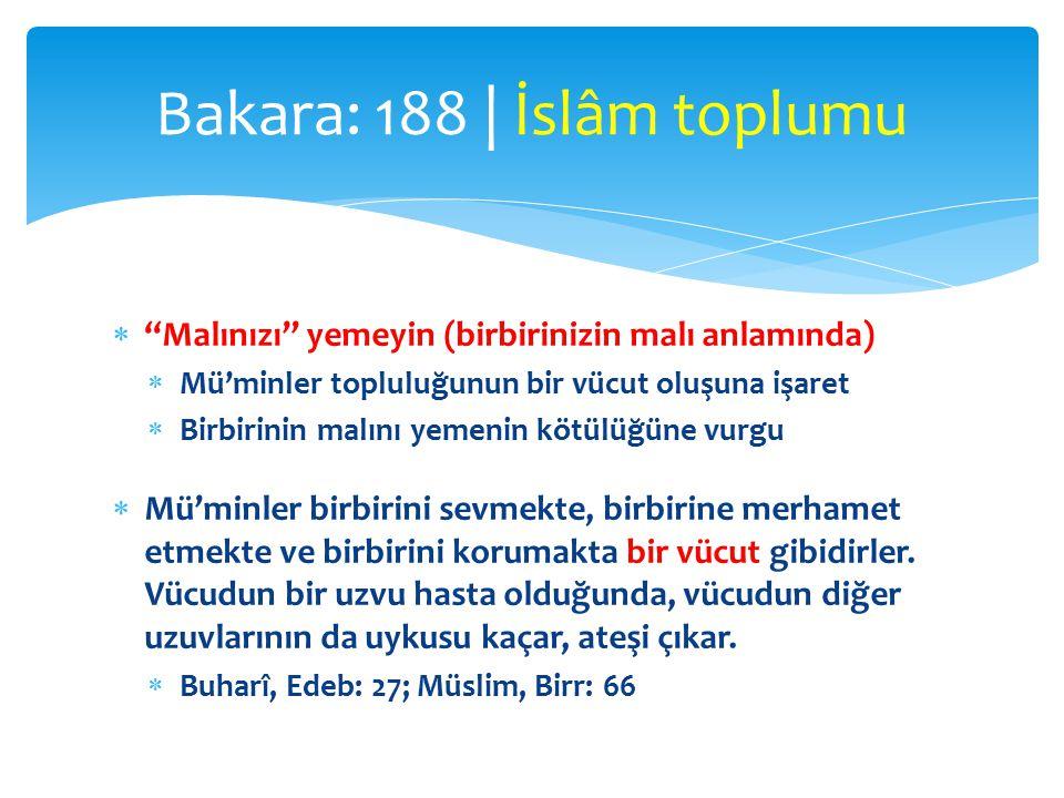  Ebû Hüreyre (r.a.):  Resulullah (s.a.v.), bir dâvâ için rüşvet verene de, alana da lânet etmiştir.