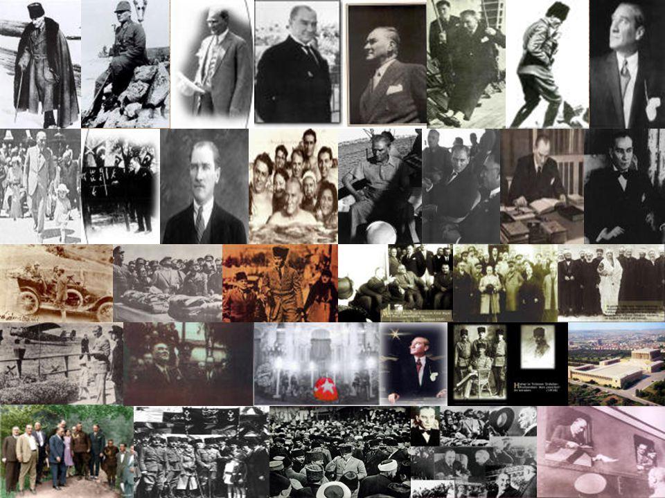1881 Atatürk'ün Selanik'te doğumu 1893 Atatürk'ün Selanik Askeri Rüştiyesi'ne girişi.