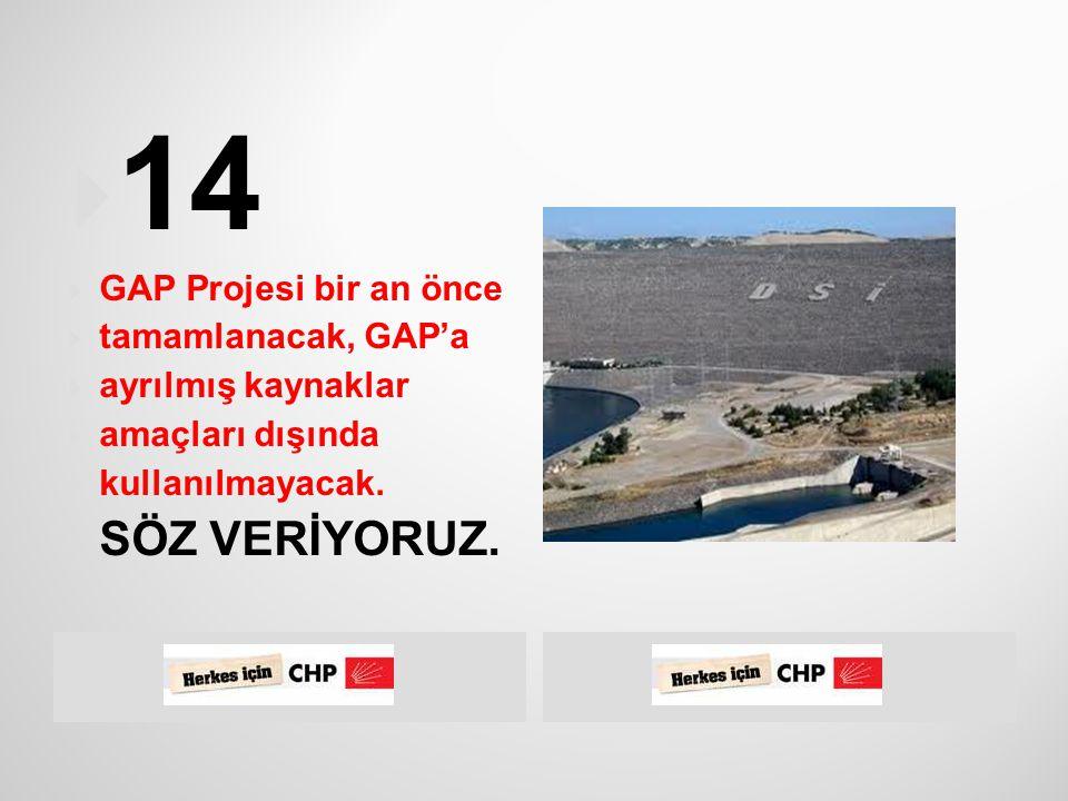  CHP iktidarında İşsizlik Sigortası Fonu'nun  hükümet tarafından amaç dışı faaliyetlerde  kullanılması engellenecektir.