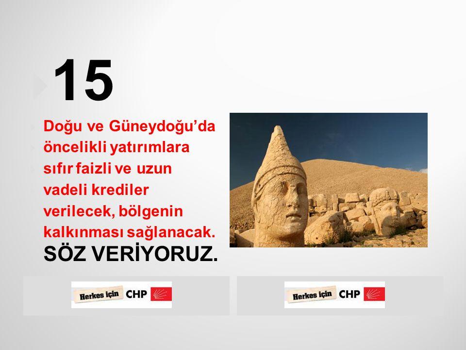  Güneydoğu Anadolu Projesi tüm boyutları ile  dengeli bir şekilde ve hızla tamamlanacaktır.