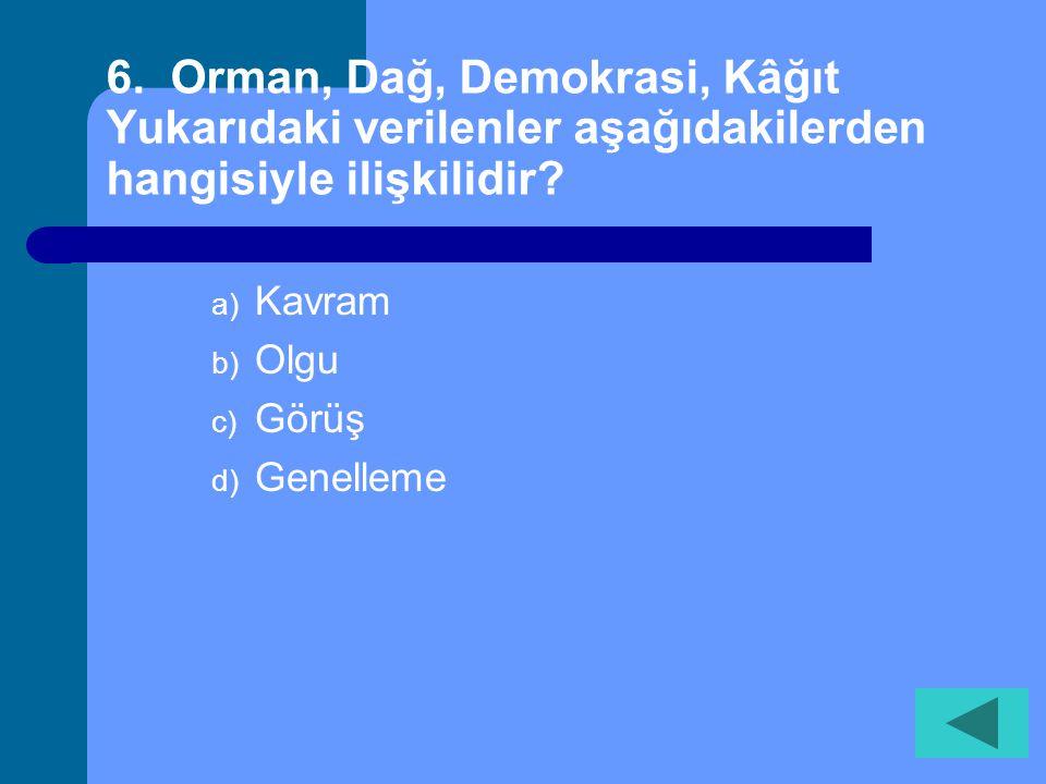 5. Aşağıdakilerden hangisi tüketici hakları ihlalleri için başvurabileceğimiz bir kuruluştur? a) Muhtarlıklar b) Valilikler c) Milli Eğitim Bakanlığı
