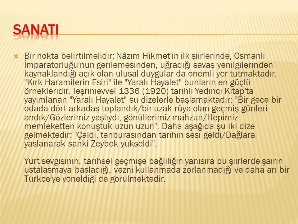 Şairin ilk gençlik şiirlerinden bazılarını Bahriye Mektebi'nde öğretmeni olan ve annesi Celile Hanım'a yakınlık duyan Yahya Kemal'in düzelttiğini Vâ