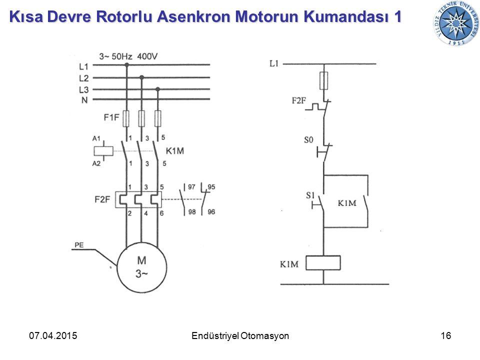07.04.201516Endüstriyel Otomasyon Kısa Devre Rotorlu Asenkron Motorun Kumandası 1