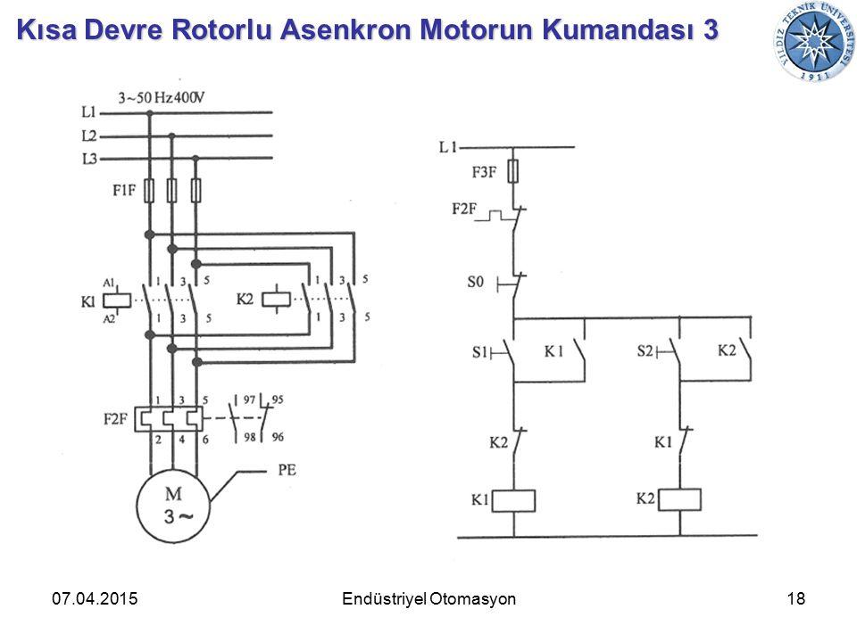 07.04.201518Endüstriyel Otomasyon Kısa Devre Rotorlu Asenkron Motorun Kumandası 3