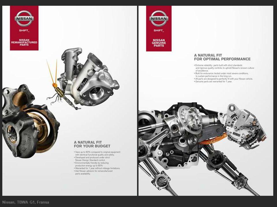 Nissan, TBWA G1, Fransa
