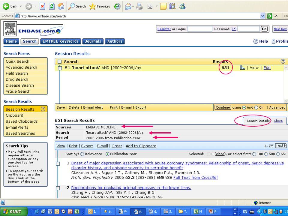 EMBASE.com February 2006 12