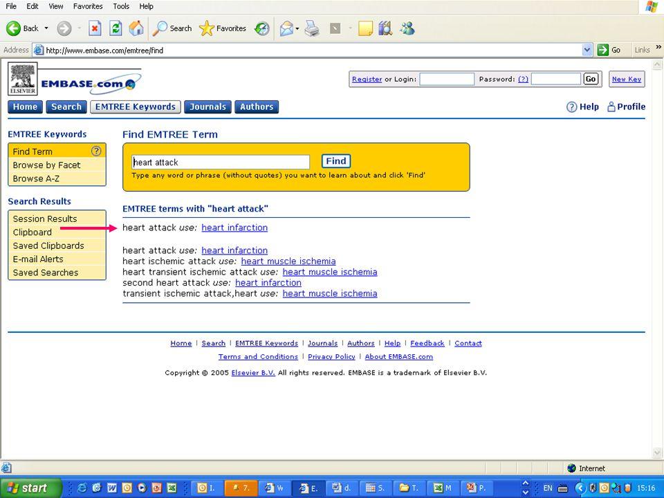 EMBASE.com February 2006 19