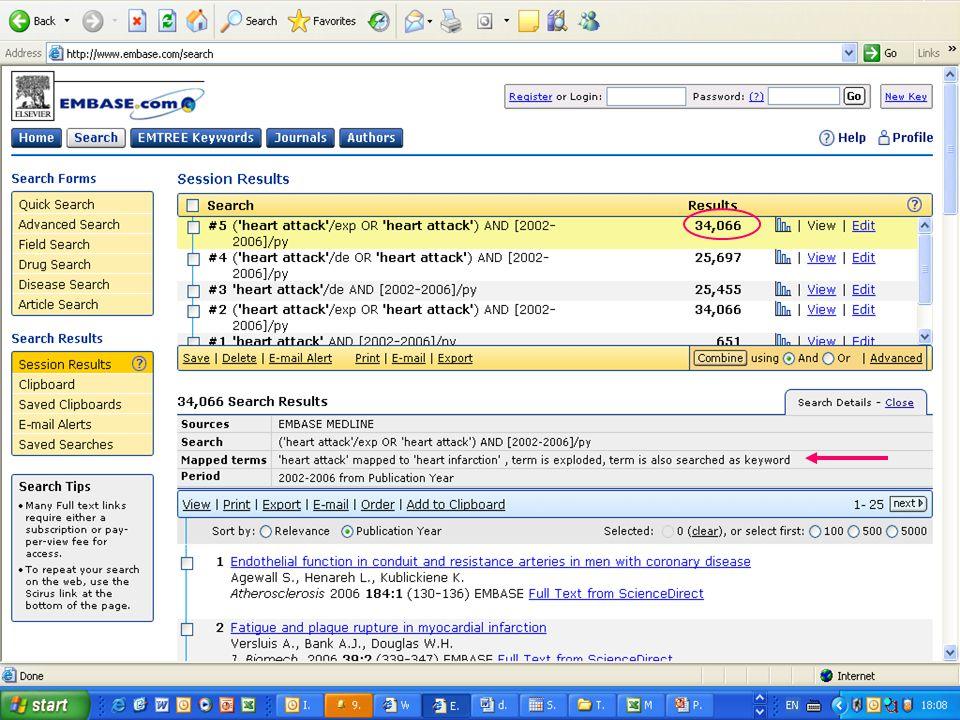 EMBASE.com February 2006 27