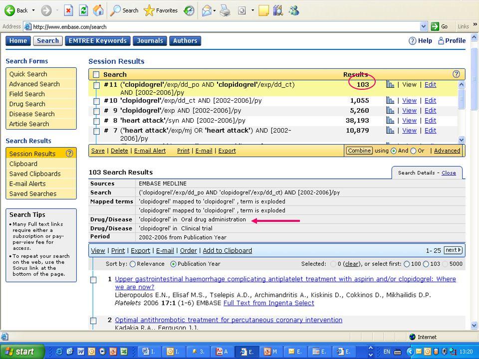 EMBASE.com February 2006 45