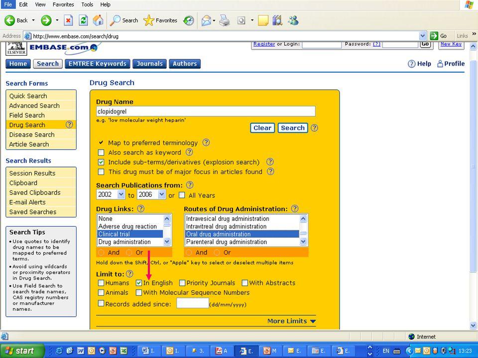 EMBASE.com February 2006 46