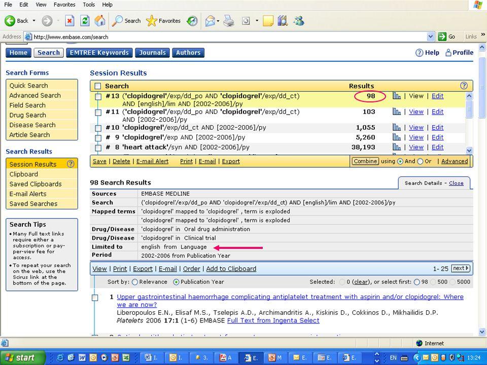 EMBASE.com February 2006 47