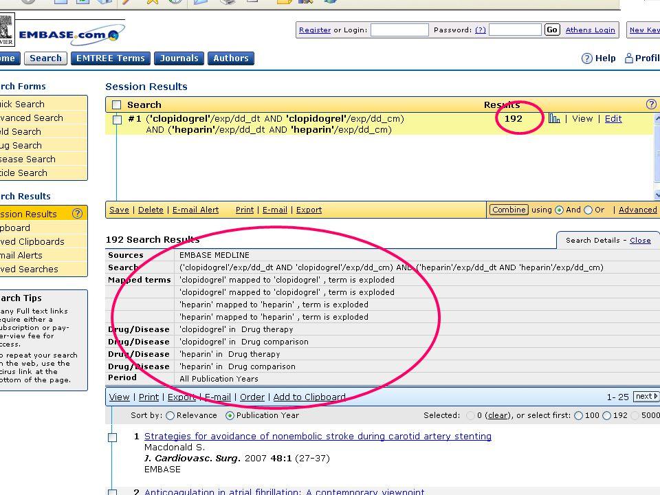 EMBASE.com February 2006 55