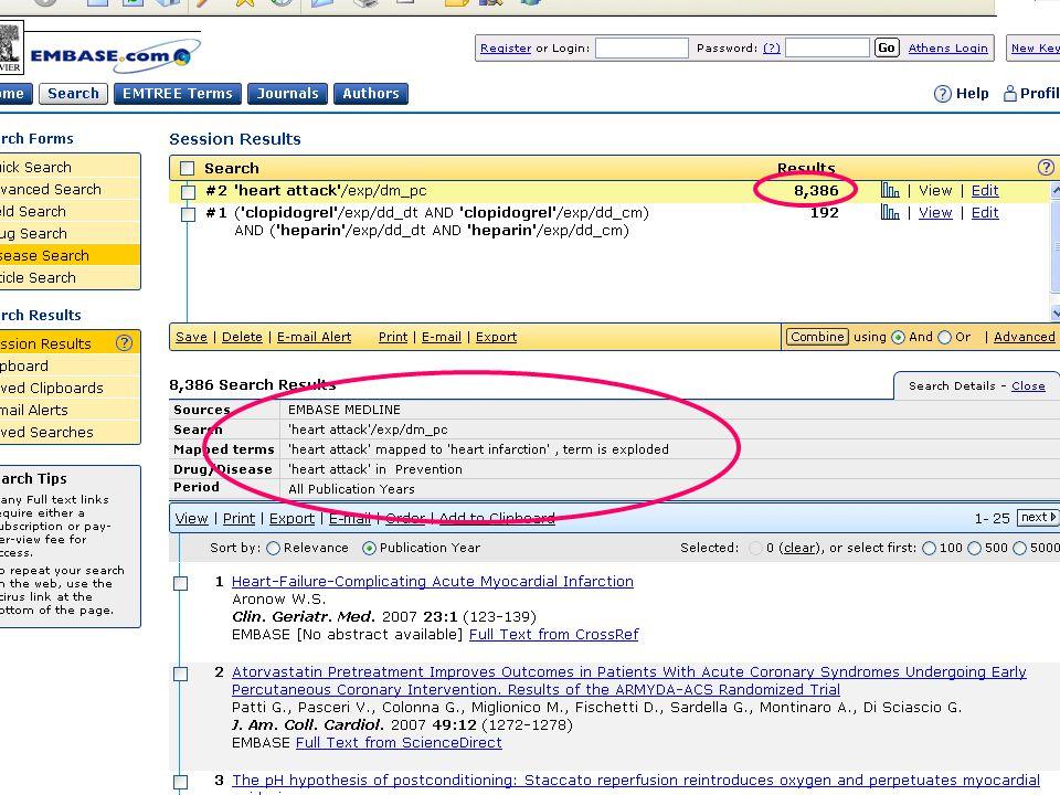 EMBASE.com February 2006 57