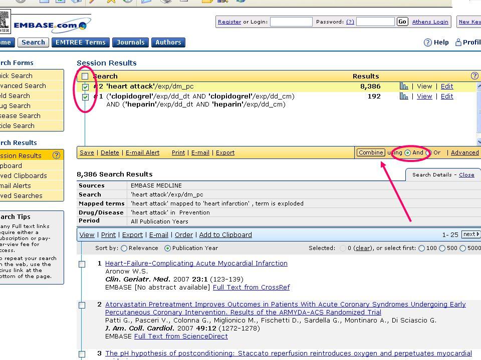 EMBASE.com February 2006 59